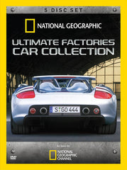 Ultimate Factories Car Collection (5-Disc Set) (National Geographic) (Boxset)