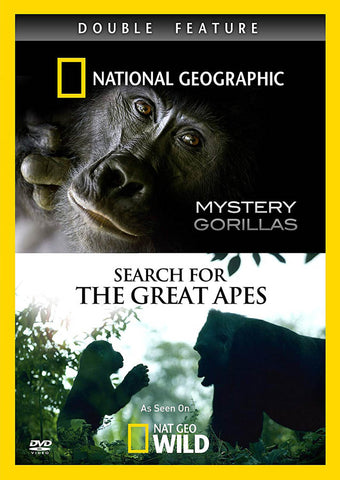 Mystery Gorillas / Search For The Great Apes (Double Feature) (National Geographic) DVD Movie