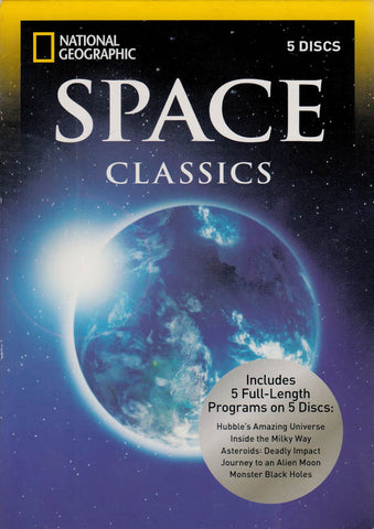 Space Classics (5-Discs) (National Geographic) DVD Movie