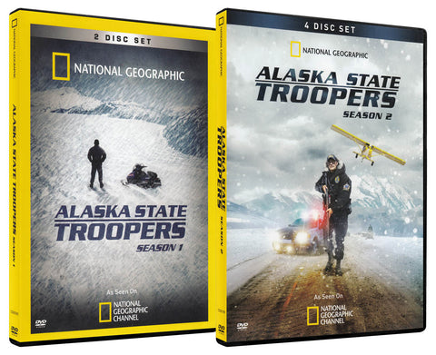 National Geographic Alaska State Troopers (Season 1 / Season 2) (2-Pack) DVD Movie