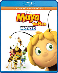 Maya The Bee Movie (3D Blu-ray + Blu-ray + DVD) (Blu-ray)