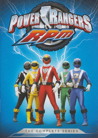 Power Rangers - Rpm the Complete Series (Keepcase) DVD Movie