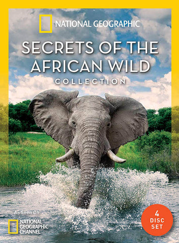 Secrets Of The African Wild Collection (National Geographic) (Boxset) DVD Movie