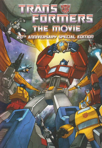 Transformers - The Movie (Bilingual)(20th Anniversary Special Edition) DVD Movie