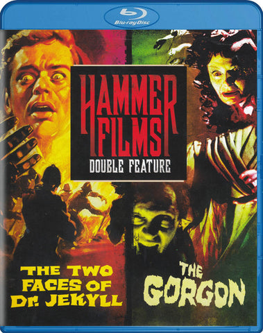 Hammer Film Double Feature : The Two Faces Of Dr. Jekyll / The Gorgon (Blu-ray) BLU-RAY Movie