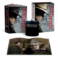Justified - The Complete Series (Includes Justified Flask) (Blu-ray) (Boxset)