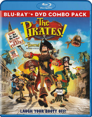 The Pirates! - Band of Misfits (Blu-ray + DVD Combo Pack) (Blu-ray) (Bilingual)