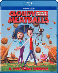 Cloudy with a Chance of Meatballs (Blu-ray 3D) (Blu-ray) (Bilingual)