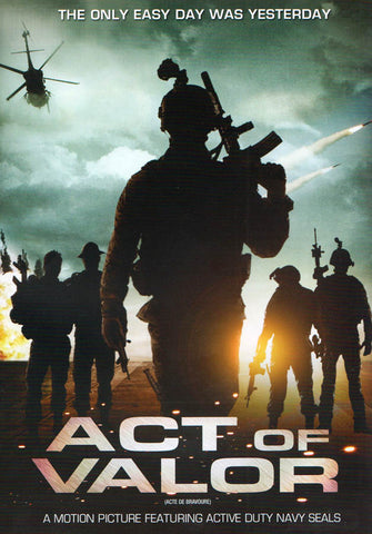 Act Of Valor (Bilingual) DVD Movie