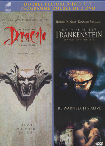 Bram Stoker s - Dracula / Mary Shelley s - Frankenstein (Double Feature) (Bilingual) DVD Movie