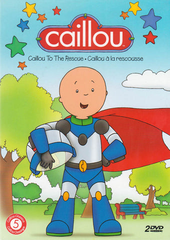 Caillou Classics - Caillou To The Rescue (Bilingual) DVD Movie