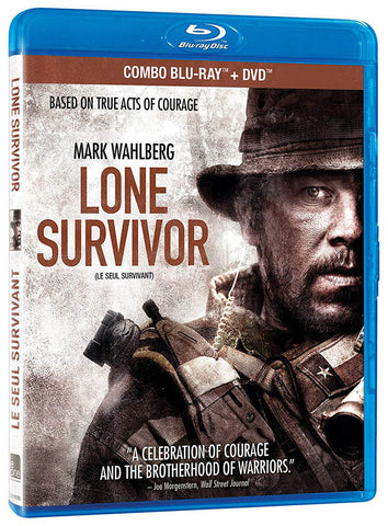 Lone Survivor (Blu-ray + DVD) (Blu-ray) (Bilingual) BLU-RAY Movie