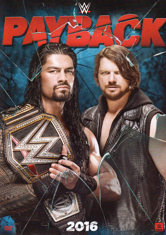 WWE Payback 2016 DVD Movie