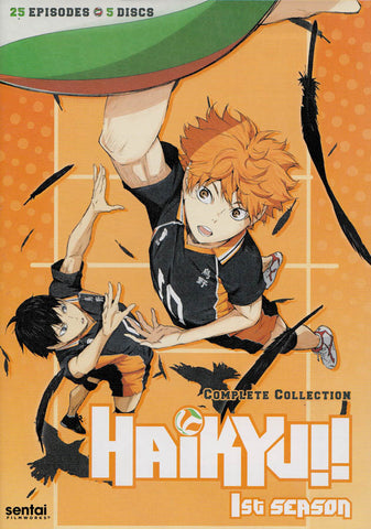Haikyu - Season 1 DVD Movie