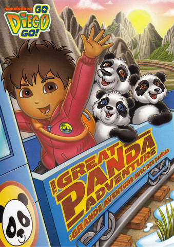 Go Diego Go! - The Great Panda Adventure (Bilingual) DVD Movie