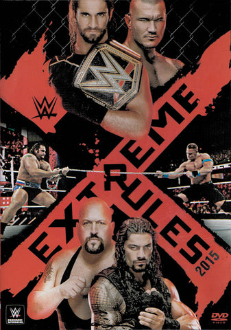 Extreme Rules 2015 (WWE) DVD Movie
