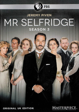 Mr. Selfridge - Season 3 DVD Movie