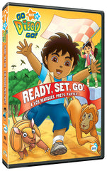 Go Diego Go - Ready, Set, Go (Bilingual)