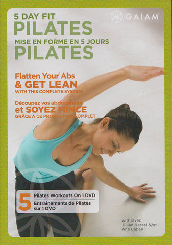 5 Day Fit Pilates (Bilingual) DVD Movie