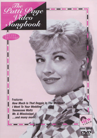 The Patti Page - Video Songbook DVD Movie