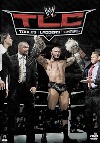 WWE - TLC - Tables, Ladders & Chairs 2013 DVD Movie