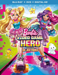 Barbie - Video Game Hero (Blu-ray + DVD + Digital HD) (Blu-ray) (Bilingual)