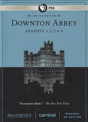 Downton Abbey Seasons 1,2,3 & 4 (Masterpiece) (Boxset) DVD Movie