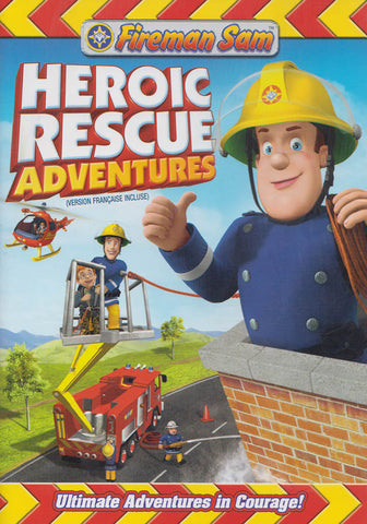 Fireman Sam - Heroic Rescue Adventure (Bilingual) DVD Movie