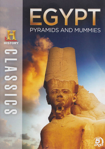 History Classics : Egypt - Pyramids And Mummies DVD Movie