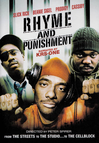 Rhyme and Punishment DVD Movie