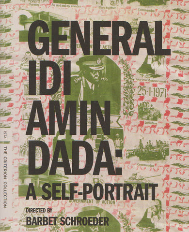 General Idi Amin Dada : A Self-Portrait (Blu-ray) (The Criterion Collection) BLU-RAY Movie
