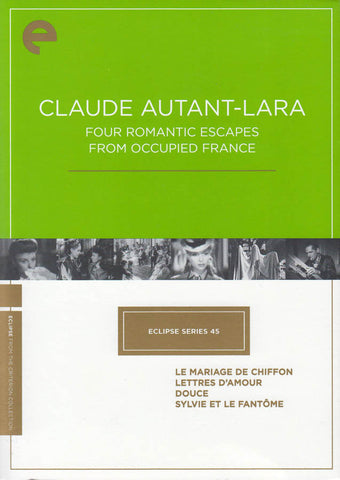 Claude AutantLara/Four Romantic Escapes from Occupied France(Criterion Collection)(Bilingual)(Boxst) DVD Movie