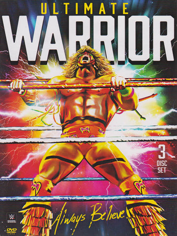 Ultimate Warrior - Always Believe (WWE) (Boxset) DVD Movie