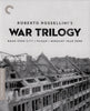 Roberto Rossellini s: War Trilogy (The Criterion Collection) (Blu-ray) (Boxset) BLU-RAY Movie