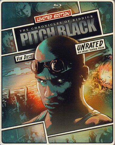 Pitch Black (Blu-ray + DVD) (Blu-ray) (Limited Edition Steelbook) BLU-RAY Movie