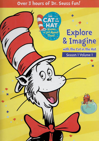 The Cat In The Hat - Explore & Imagine with The Cat in the Hat (Boxset) DVD Movie