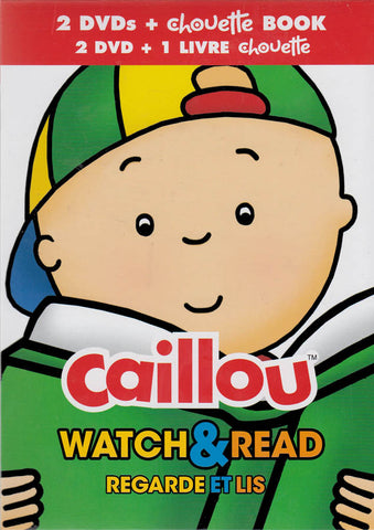 Caillou - Watch & Read (2 DVDs + Chouette Book) (Boxset) DVD Movie