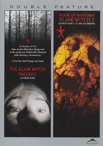 The Blair Witch Project / Book of Shadows: Blair Witch 2 (Bilingual) (Double Feature) DVD Movie