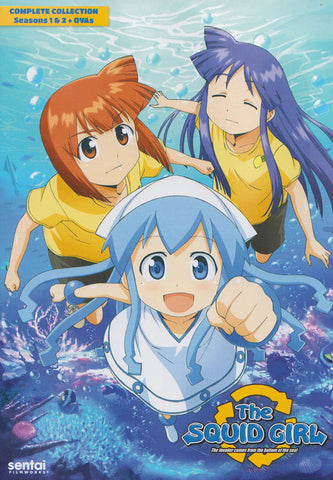 The Squid Girl (Complete Collection Seasons 1 & 2 + OVAs) (Boxset) DVD Movie