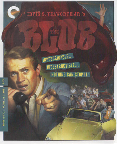 The Blob (The Criterion Collection) (Blu-ray) BLU-RAY Movie