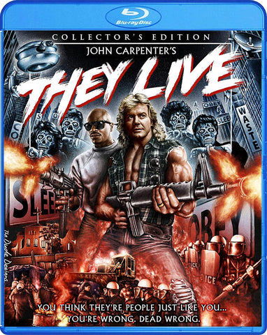 They Live (Collector's Edition) (Blu-ray) BLU-RAY Movie