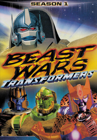 Beast Wars Transformers - Season 1 (Keepcase) DVD Movie