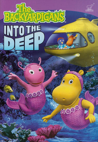 The Backyardigans - Into The Deep DVD Movie