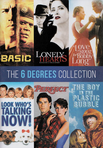 The 6 Degrees Collection (Basic / Lonely Hearts / ...... / Perfect / The Boy In The Plastic Bubble) DVD Movie