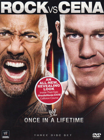 The Rock vs. John Cena - Once in a Lifetime (WWE) (Boxset) DVD Movie