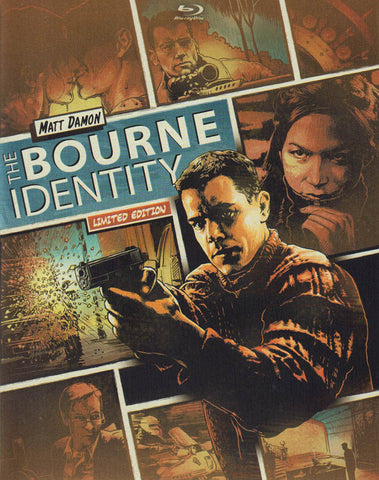 The Bourne Identity (Steelbook) (BD + DVD + Digital Copy) (Blu-ray) BLU-RAY Movie