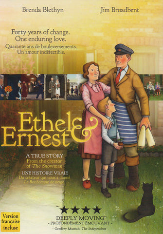 Ethel & Ernest (Bilingual) DVD Movie