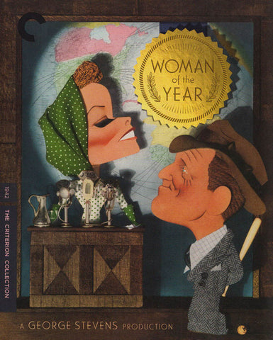 Woman of the Year (The Criterion Collection) (Blu-ray) BLU-RAY Movie