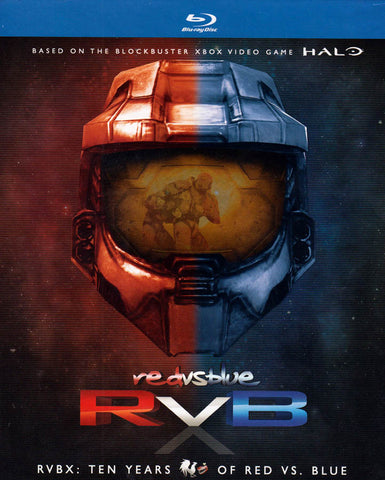 RVBX : Ten Years Of Red VS. Blue (Blu-ray + DVD) (Blu-ray) (Boxset) BLU-RAY Movie
