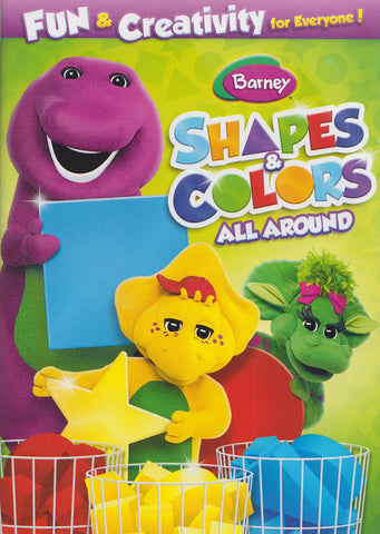 Barney : Shapes And Colors All Around DVD Movie